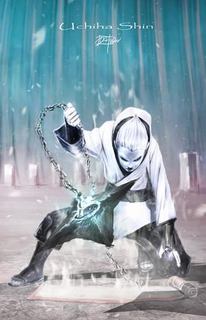 *Shin Uchiha Ready For Battle*