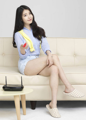 150608 IU as exclusive model for Korea Cable TV Association (KCTA)