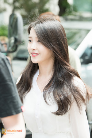 150609 IU after 'Producer' filming