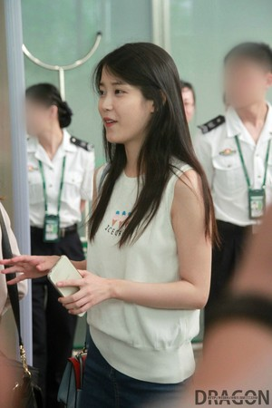 150615 IU Arriving GuangZhou, China