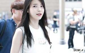 150615 IU at Incheon Airport Leaving for GuangZhou, China