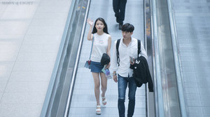 150615 IU at Incheon Airport Leaving for GuangZhou, China