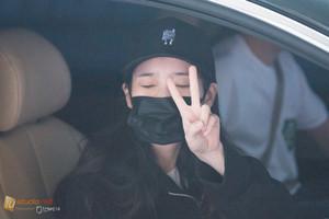 150616 IU return to Korea from Guangzhou