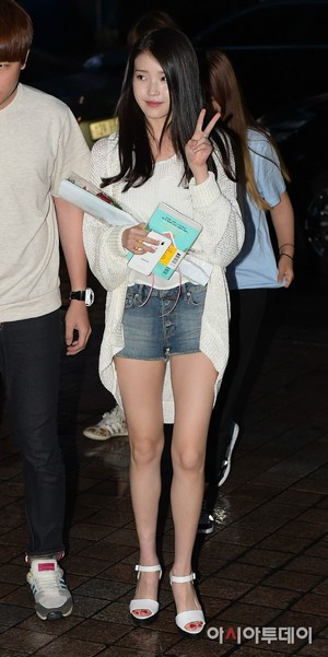 150620 IU Arriving Producer Ending Party