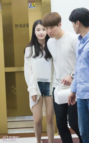 150620 IU Leaving Producer Ending Party
