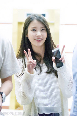 150620 IU at Producer Ending Party