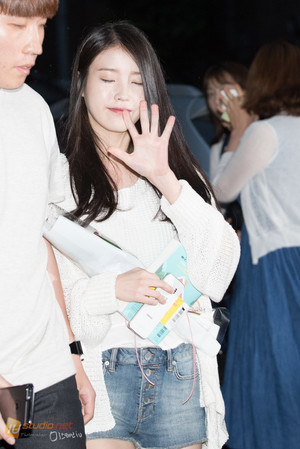 150621 IU After Producer Ending Party