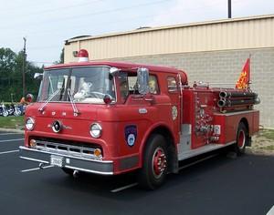 1968 Ford Firetruck