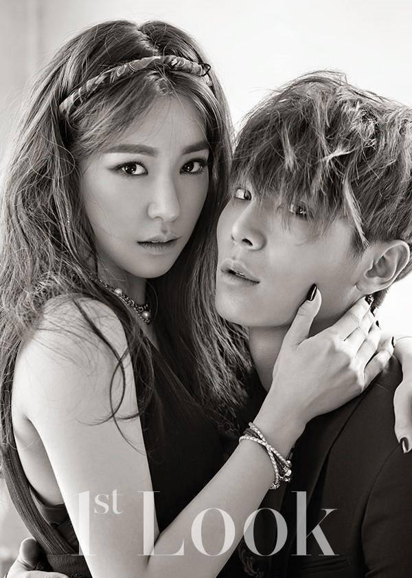 1st look Magazine Tiffany and Lee Cheol-woo