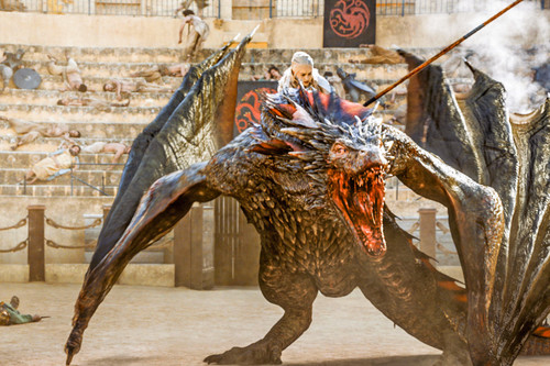 Game of Thrones wallpaper entitled 5x09- The Dance of Dragons
