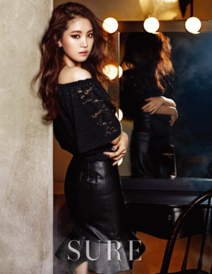 A Pink's Naeun Shares Her Beauty Tips With Sure Magazine