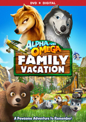 Alpha and Omega: Family Vacation 壁纸 with 日本动漫 titled Alpha and Omega 5 poster