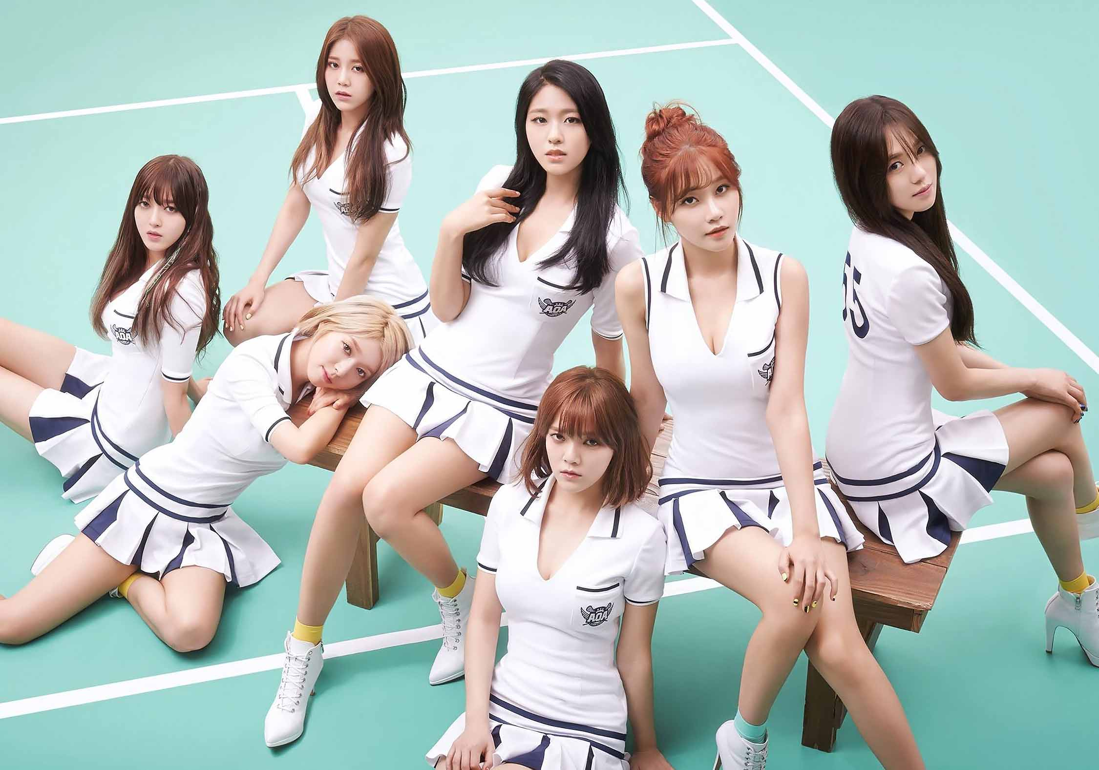 AOA – Concept تصویر For 'Heart Attack'