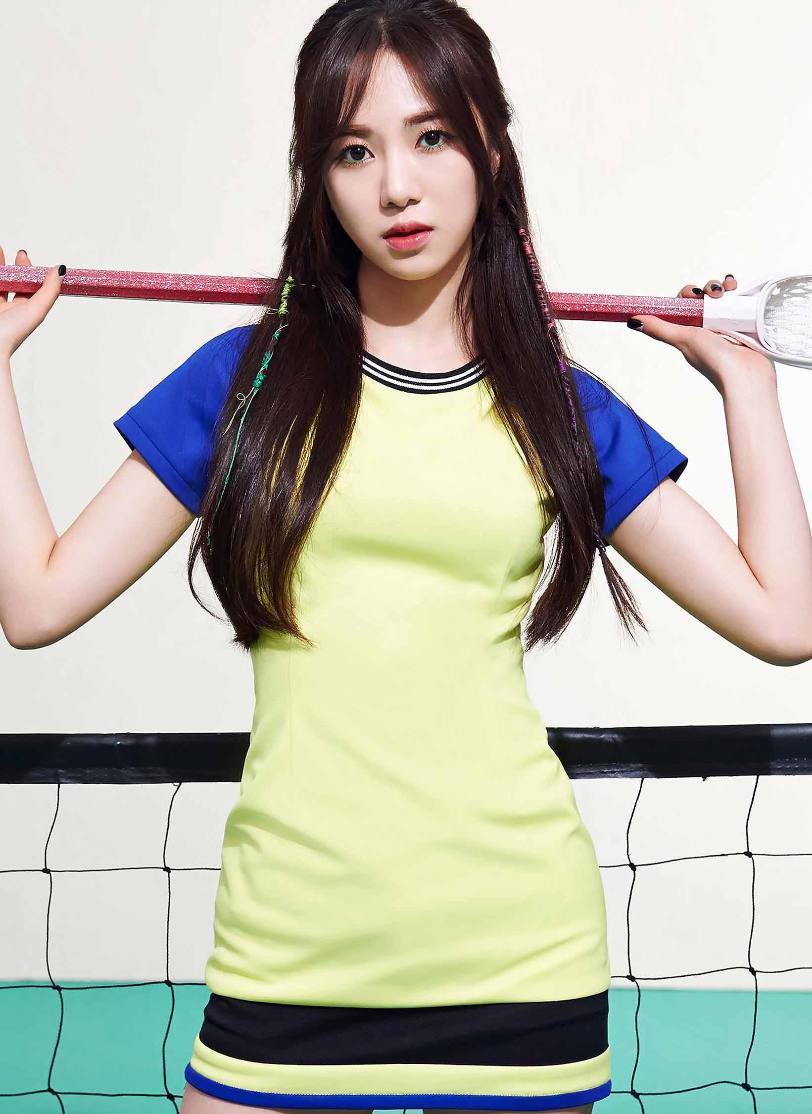 AOA Mina – Concept litrato For 'Heart Attack'
