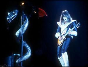 Ace (Love Gun Tour/The Forum) Inglewood, California…August 26, 1977
