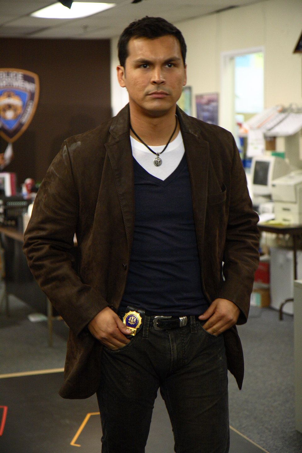 Adam Beach As Chester Lake In Law And Order: SVU