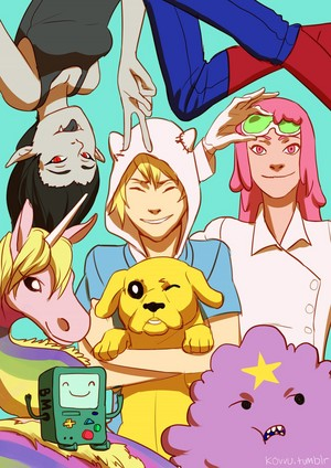Adventure Time Friends