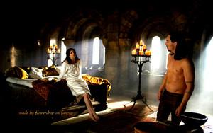 Alexander and Mina karatasi la kupamba ukuta