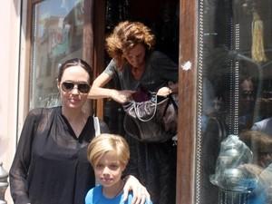 Angelina Jolie in Mardin, Turkey