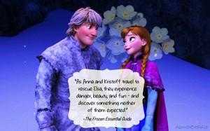 Anna and Kristoff + kutipan
