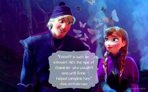 Anna and Kristoff + Цитаты