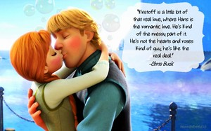 Anna and Kristoff + quotes