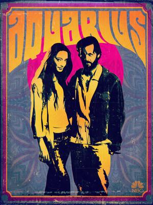 Aquarius Poster - Emma Karn and Charles Manson
