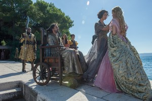 Areo, Doran, Ellaria, Myrcella and Sand Snakes