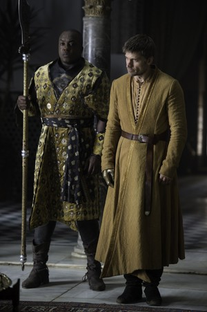 Areo Hotah and Jaime Lannister