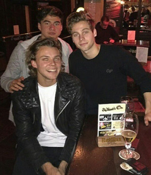 Ash,Luke and Calum