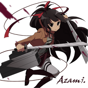 Azami in a Scout Regimen Uniform