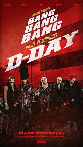 malaking putok wolpeyper probably with a sign called BIGBANG – MADE SERIES [A] D-DAY