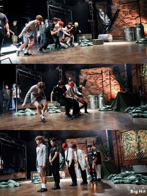 방탄소년단 'Dope' Behind M/V Shooting