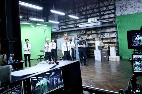 BTS 'Dope' Behind M/V Shooting
