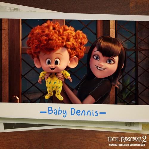 Hotel Transylvania Обои called Baby Dennis