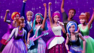búp bê barbie in Rock'n Royals - Official Trailer