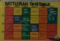 Battleplan Timetable