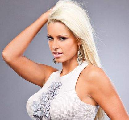 Maryse Ouellet wallpaper possibly containing attractiveness, a bustier, and a portrait entitled Beautiful Maryse
