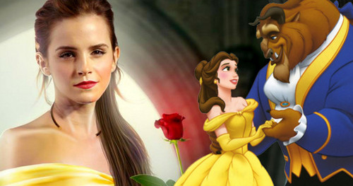 Beauty and the Beast (2017) Обои containing a bouquet entitled Beauty and the Beast