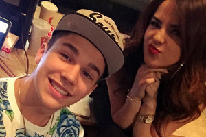 Becky G and Austin Mahone :D