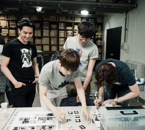 Behind theScenes of WINNER at Nii x HiLooPhotoshoot