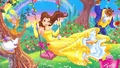 Belle Wallpaper <3 :3  - disney-princess wallpaper