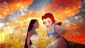 Belle and Pocahontas