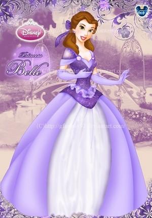 Belle in purple