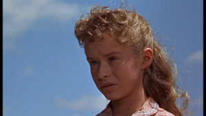 Beverly Washburn as Lisbeth Searcy in Old Yeller