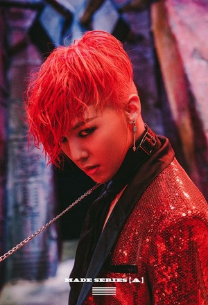 Big Bang G-Dragon for 'MADE' series 'A' single album