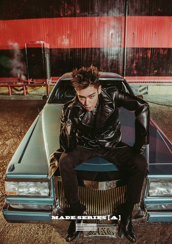 malaking putok wolpeyper possibly with an automobile titled Big Bang T.O.P for 'MADE' series 'A' single album