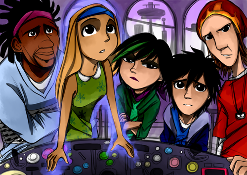 Big Hero 6 Hintergrund containing Anime titled Big Hero 6 - Inside Out crossover