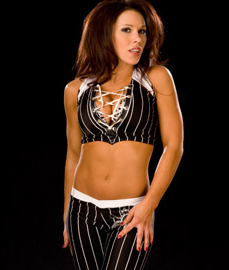 Mickie James 바탕화면 titled Black Bellbottoms