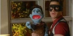 Blaine and Kurt puppet
